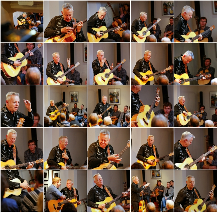 Tommy Emmanuel Masterclass, Ritz Music, 26Oct2014, photos by Cristina Schek