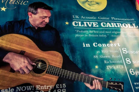 Clive Carroll Concert Poster, Ritz Music, 8Nov2015 (2)