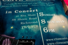 Clive Carroll Concert Poster, Ritz Music, 8Nov2015 (3)