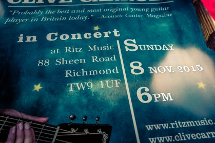 Clive Carroll Concert Poster, Ritz Music, 8Nov2015 (3)