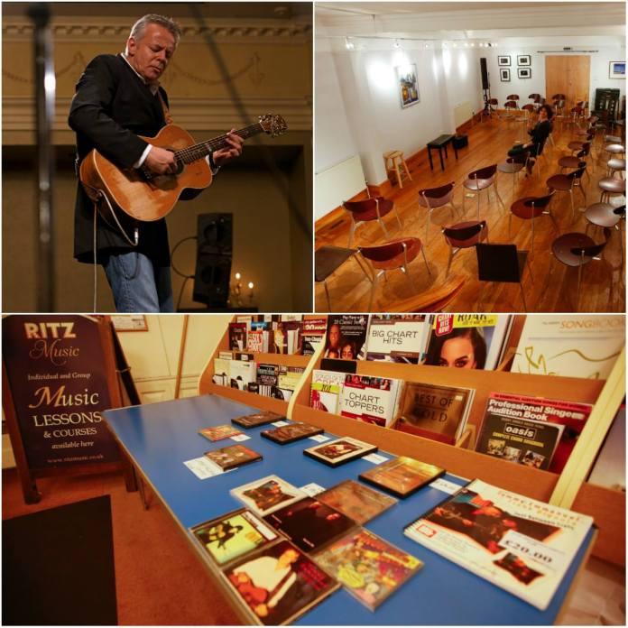 Tommy Emmanuel Masterclass, Ritz Music, promoter Noris Schek