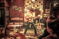Noris Schek Concert at Old Sergeant, Febr2016, photo by Cristina Schek (5)